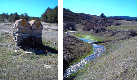 Nacimiento río Tajo.