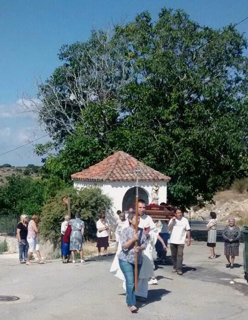 Ermita de Santa María Magdalena, donde se veneró la imagen bajada del despoblado de Durón.