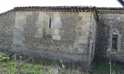 Fachada exterior de la capilla de San Pedro, o de los Caballero.