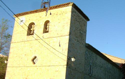 Iglesia de Lagunaseca. Fachada oeste. Testero.