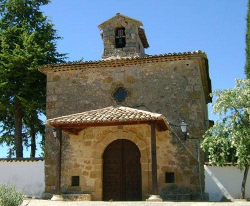 Ermita de La Frontera. Testero.