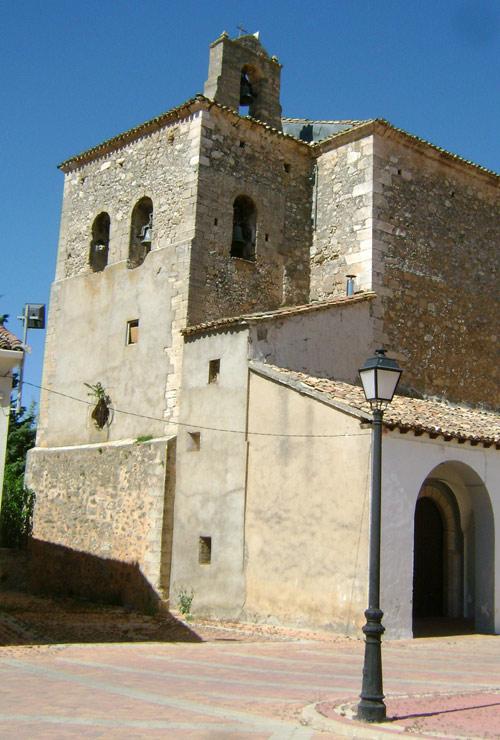 Iglesia de Cañamares. Testero.