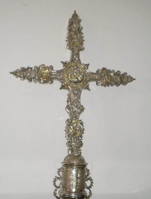 La cruz de Becerril. Anverso