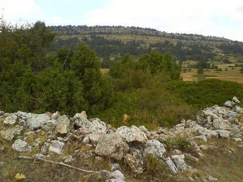 Lugar donde estuvo Santa María de Durón.