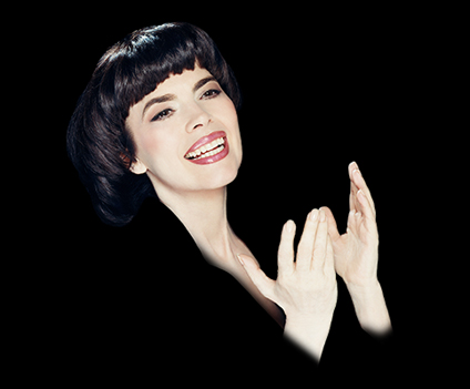 Mireille Mathieu2Post