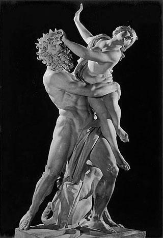 Hades y Perséfone.