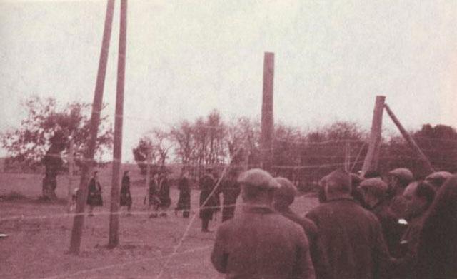 Campo de concentración de Bram (Francia).